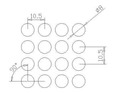 圆形 8x10.5PxD90