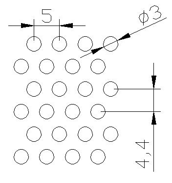 圆形 3x5PxD60