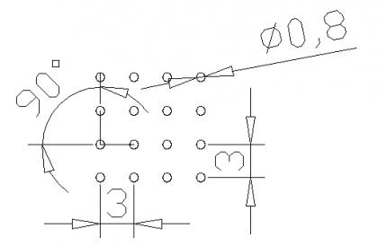 圆形 0.8x3PxD90