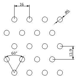 圆形 6x16PxD60