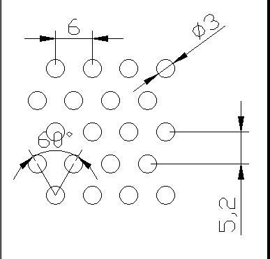 圆形 3x6PxD60