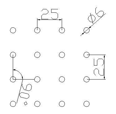 圆形 6x25PxD90