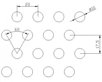 圆形 10x20PxD60