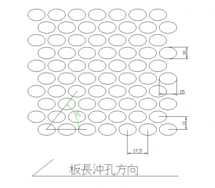 橢圆孔 15x10x17.5PxD60
