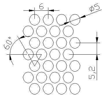 圆形 5x6PxD60