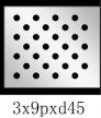 圆形 3x9PxD45