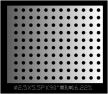 圆形 2.5x5.5PxD90