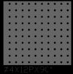 圆形 4x12PxD90
