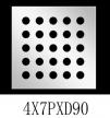 圆形 4x7PxD90