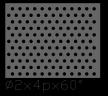 圆形 2x4PxD60